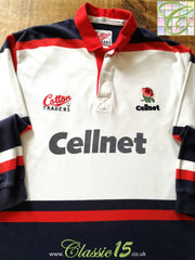 1996/97 England Leisure Rugby Shirt Navy (XL)