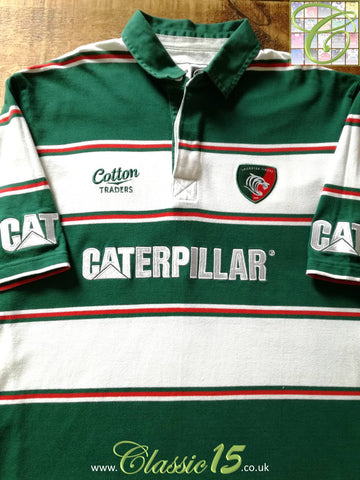 2008/09 Leicester Tigers Home Rugby Shirt (XXL)