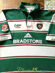 2007/08 Leicester Tigers Home Rugby Shirt (L)
