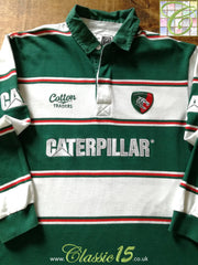 2008/09 Leicester Tigers Home Rugby Shirt. (L)