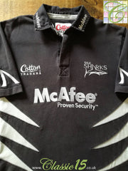 2006/07 Sale Sharks Home Rugby Shirt (M)