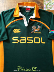 2006/07 South Africa Leisure Rugby Shirt (M)