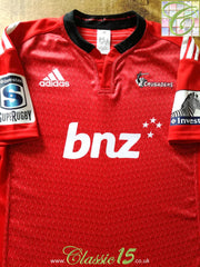 2014 Crusaders Home Super Rugby Shirt (XL)