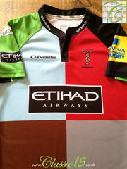 2012/13 Harlequins Home Player Issue Rugby Shirt (3XL)