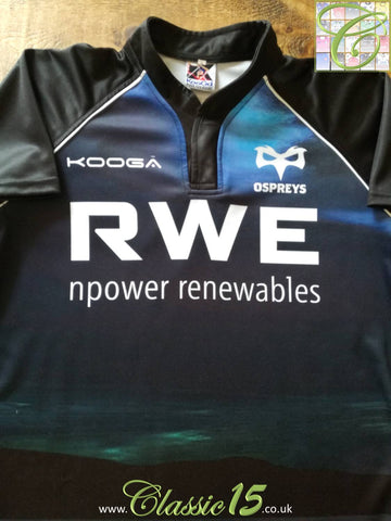 2012/13 Ospreys Rugby Training Shirt (M)