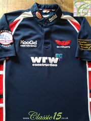 2006/07 Scarlets Away Rugby Shirt (S)