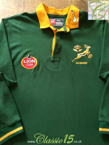 1996/97 South Africa Home Rugby Shirt (XL)
