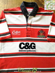 2003/04 Gloucester Rugby Home Shirt (M)