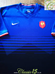 2011/12 France Home Rugby Shirt (M)
