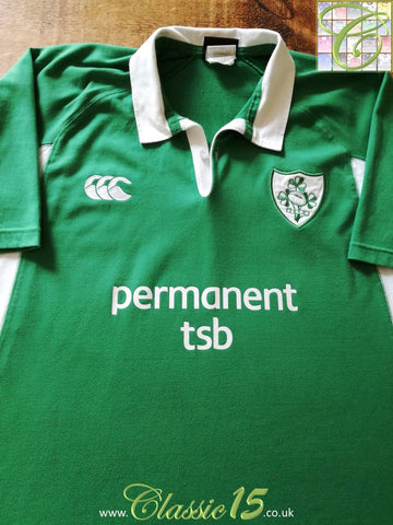 2004/05 Ireland Home Rugby Shirt (L)