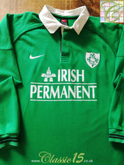 1999/00 Ireland Home Rugby Shirt. (L)
