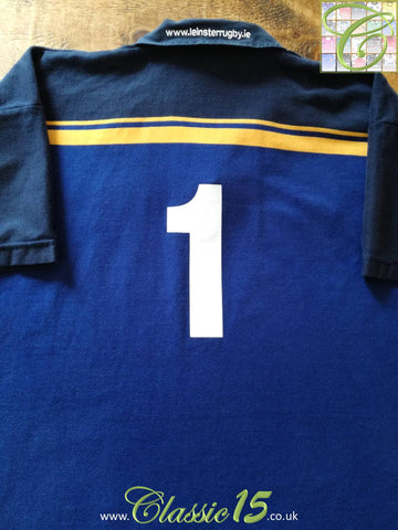 2003/04 Leinster Home Rugby Shirt #1 (XL)