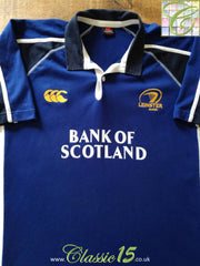 2005/06 Leinster Home Rugby Shirt (S)