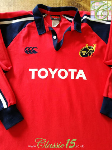 2004/05 Munster Home Rugby Shirt. (XXL)