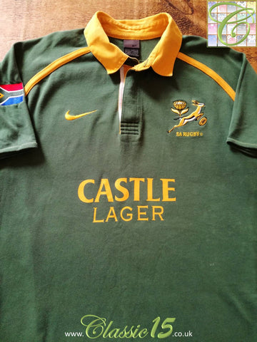 2001/02 South Africa Home Rugby Shirt (M)