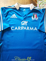 2012/13 Italy Home Rugby Shirt (M)