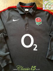 2010/11 England Away Rugby Shirt. (M)