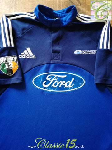 2003 Blues Home Super 12 Rugby Shirt (XXL)