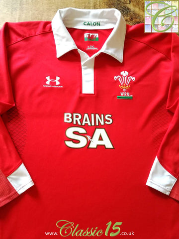 2008/09 Wales Pro-Fit Rugby Training Shirt. (XL)
