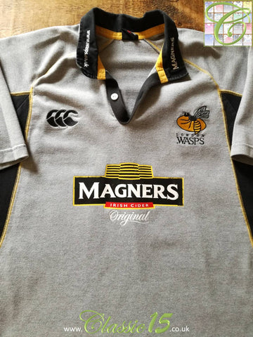 2005/06 London Wasps Away Rugby Shirt (S)