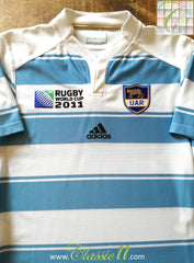 2011 Argentina Home World Cup Rugby Shirt (S)