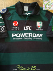 2011/12 London Irish European Rugby Shirt (XL)