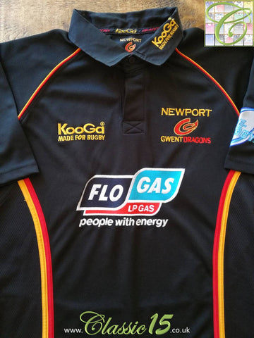2005/06 Newport Gwent Dragons Home Rugby Shirt (L)