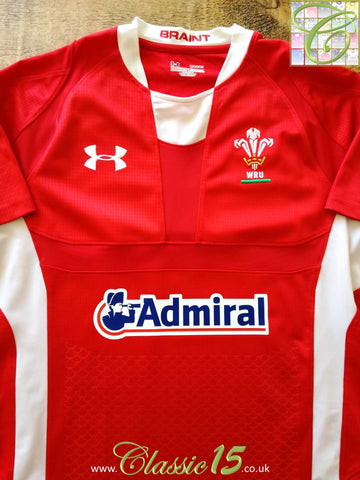 2011/12 Wales Home Rugby Shirt (M)