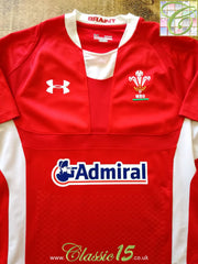2011/12 Wales Home Pro-Fit Rugby Shirt (M)