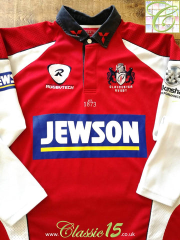 2007/08 Gloucester Home Rugby Shirt. (4XL)