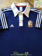 2013 British & Irish Lions Rugby Leisure Shirt Blue (M)