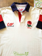 1995/96 England Home Rugby Shirt (L)