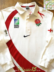 2007 England Home World Cup Rugby Shirt (S)