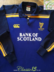 2003/04 Leinster Home Rugby Shirt. (L)