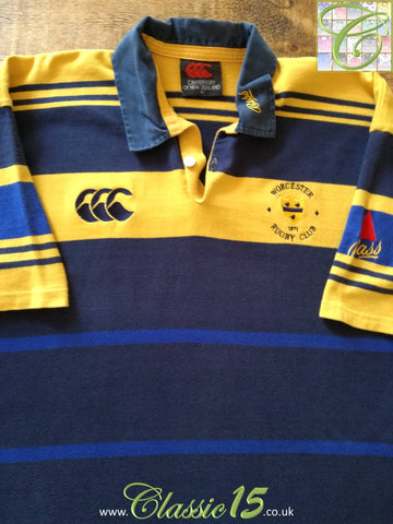 1999/00 Worcester Home Rugby Shirt (XL)
