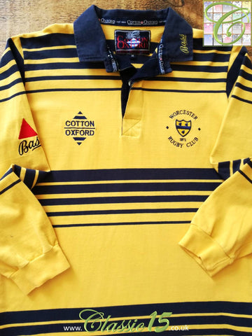 1996/97 Worcester Home Rugby Shirt (M)