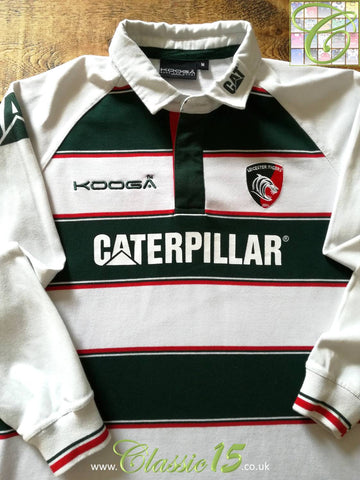 2015/16 Leicester Tigers Home Rugby Shirt. (M)