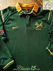 1999/00 South Africa Home Rugby Shirt. (XXL)