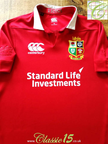 2017/18 British & Irish Lions Vaposhield Rugby Shirt (M)