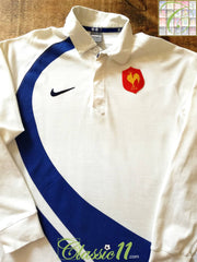 2007/08 France Away Rugby Shirt. (L)