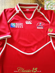 2011 Russia Rugby Home World Cup Shirt (M)