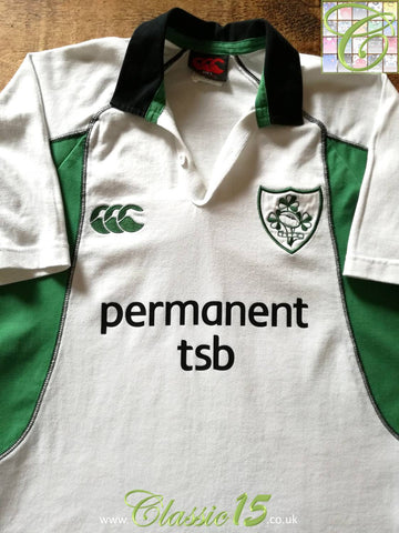 2004/05 Ireland Away Rugby Shirt (S)