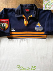 2001 ACT Brumbies Home Super 12 Rugby Shirt (M)