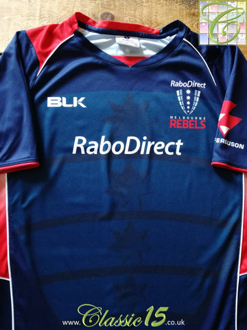 2014 Melbourne Rebels Rugby Training Shirt (XXXL)