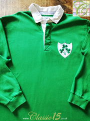 1991/92 Ireland Home Rugby Shirt (L)