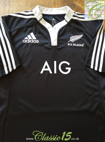 2012 New Zealand Maori Home Rugby Shirt (L)