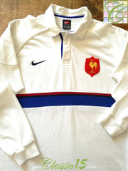 1999/00 France Away Rugby Shirt. (XL)