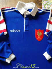 1994/95 France Home Rugby Shirt #11(M)