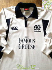 2005/06 Scotland Away Rugby Shirt. (M)