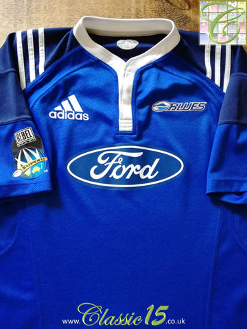 2007 Blues Home Super 14 Rugby Shirt (XL)